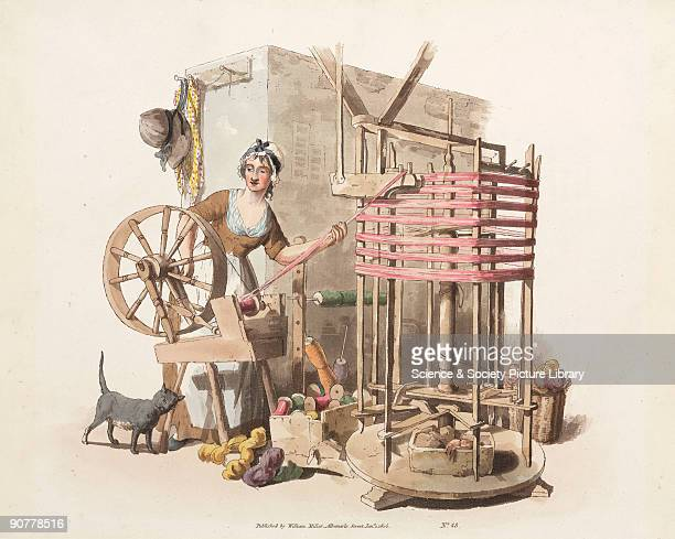 Handcoloured aquatint from 'The Costume of Great Britain' a book containing 60 images of people at work and scenes of everyday life The image shows a...