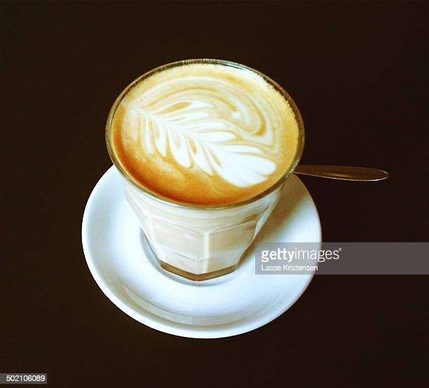 Hand-crafted cappucino