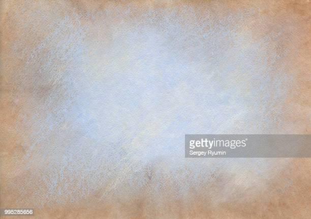hand-drawn abstract background on watercolor paper. - handcoloriert stock-fotos und bilder