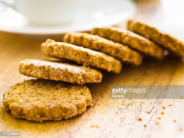 Handemade Oatmeal Biscuits