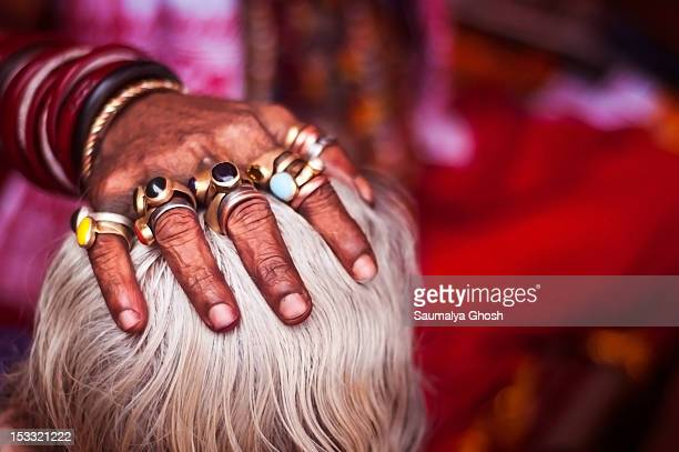 handful of blessings - saumalya ghosh stock pictures, royalty-free photos & images