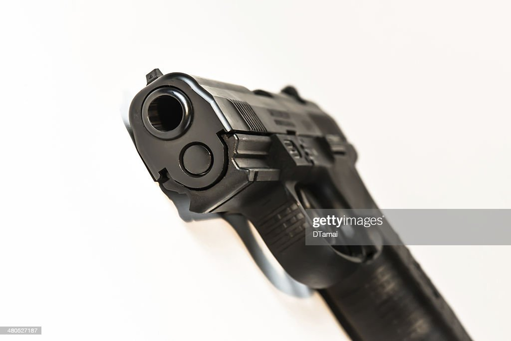 Handgun : Stock Photo