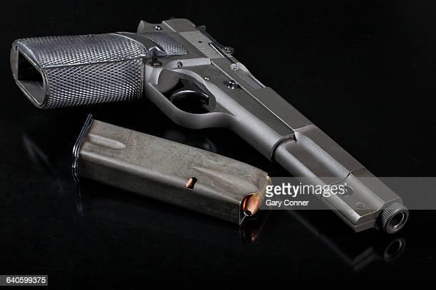 Handgun with ammunition