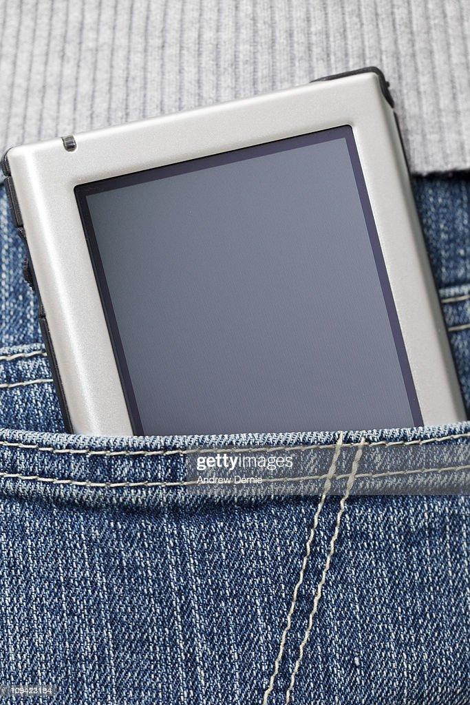 Handheld Computer : Foto de stock