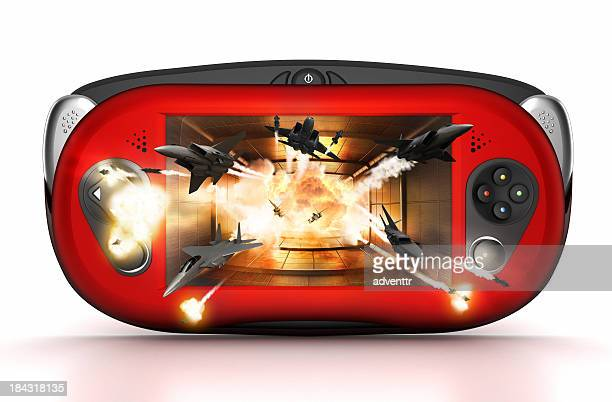 3D handheld game console