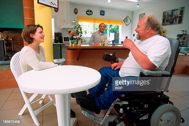 Handicapped Person Rehabilitation Imc Cerebral Motor Deficiencies People With Cerebral Motor Handicaps In Residence With Specially Adapted Apartments
