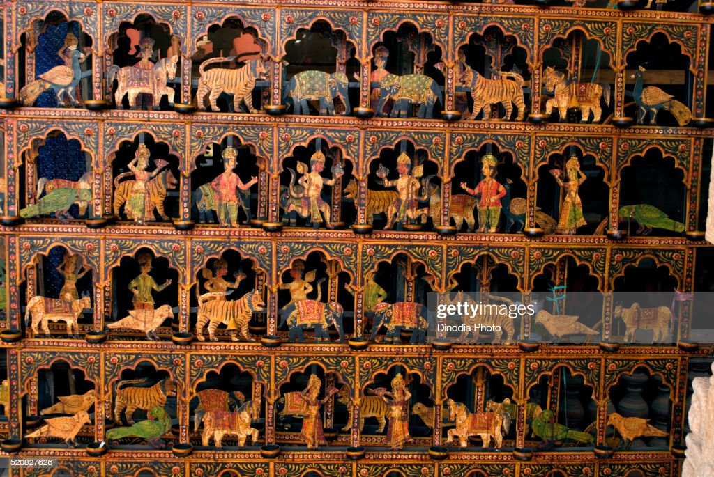 Handicraft Article In Big Handicrafts Showroom Cochin Kerala India