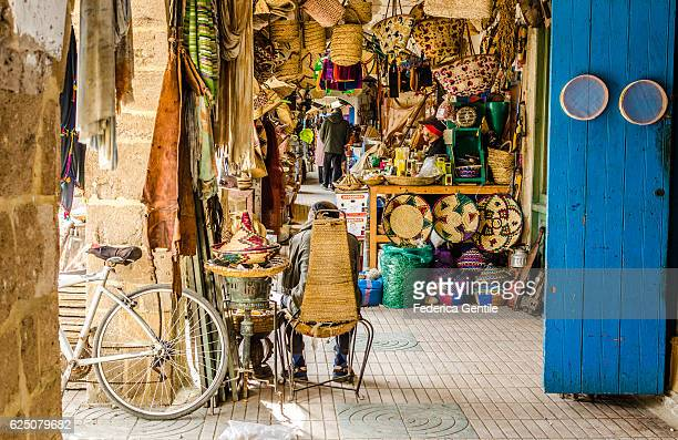 Handicraft shop in Essaouira