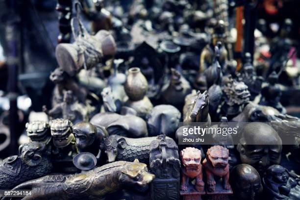 A handicraft shop on pingyao ancient street in China