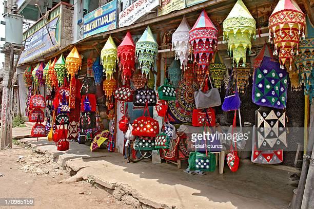 Handicraft shop Orissa India