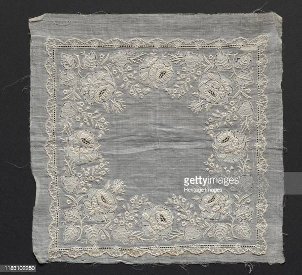 Handkerchief 1800s Creator Unknown