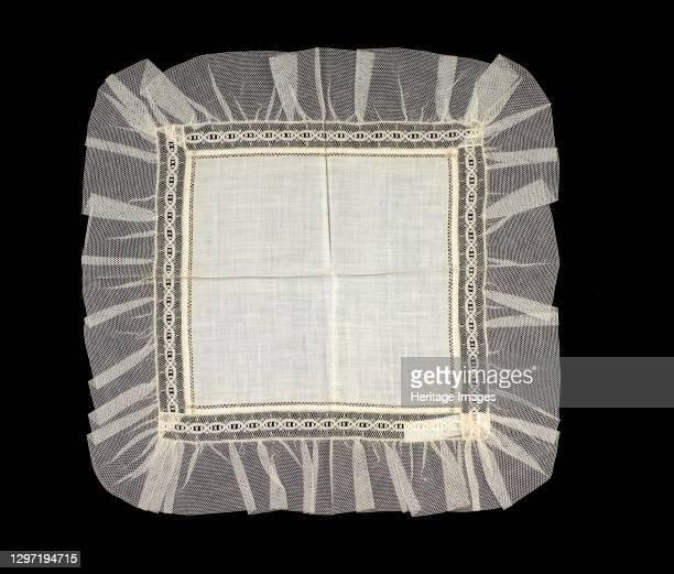 Handkerchief, American, second quarter 19th century. Artist Unknown.