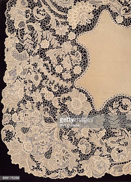 Handkerchief of Lace of Irish Manufacture' 1863 Gifts presented to Alexandra of Denmark on the occasion of her marriage to the future Edward VII...