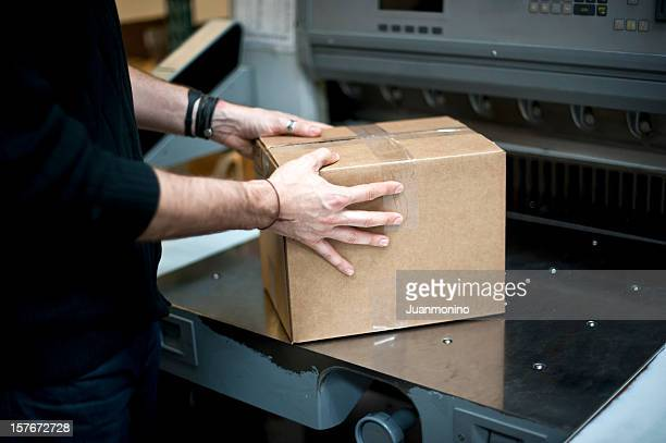 Handling a package