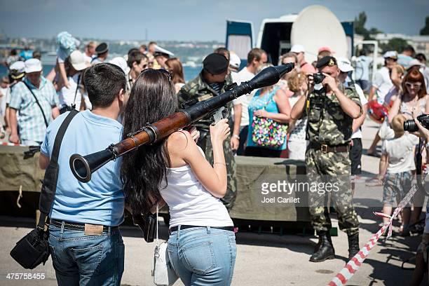 処理、ロケット propelled 榴弾セヴァストポリ、クリミアで