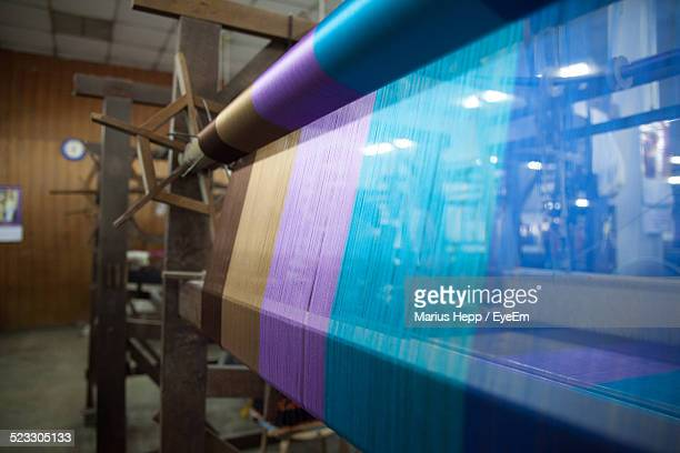 handloom in industry - loom stock pictures, royalty-free photos & images
