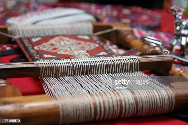 handloom - persian rug stock photos and pictures