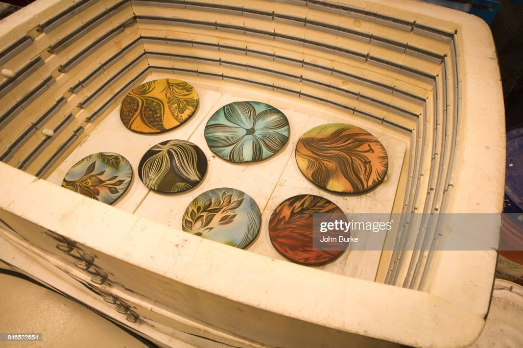 Handmade Ceramic Tiles High Res Stock Photo Getty Images