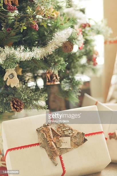 Handmade Christmas wrap