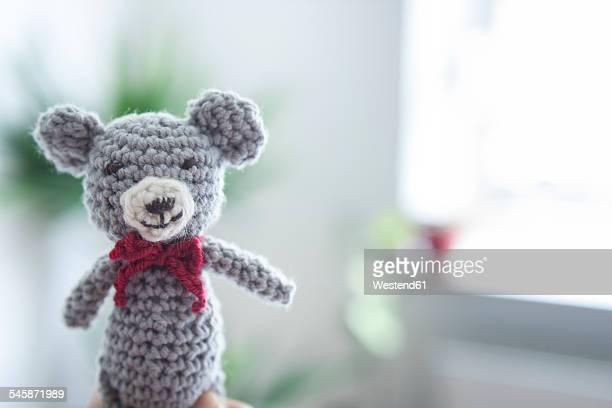 Handmade crochet bear