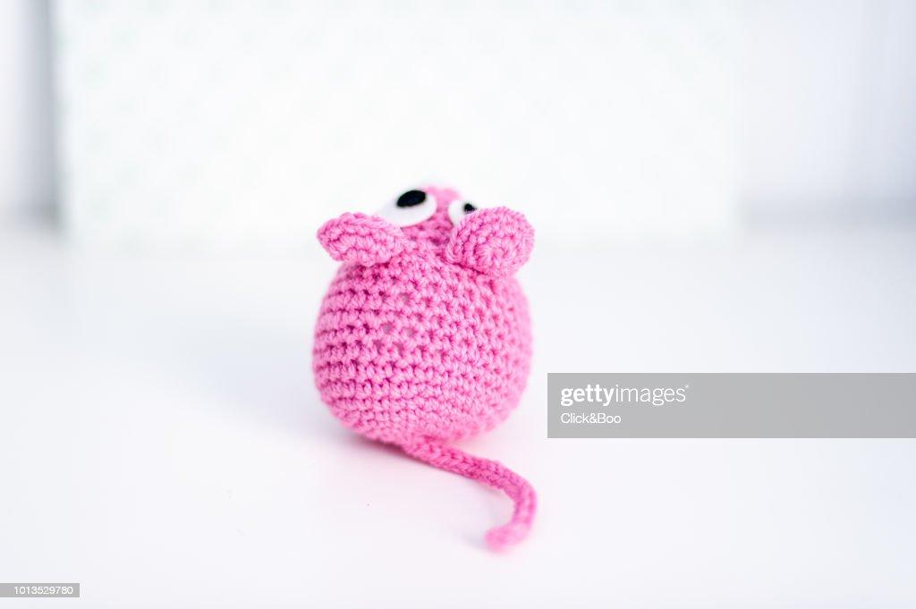 Crochet Mouse Pattern - Easy Amigurumi Pattern - YouTube | 681x1024