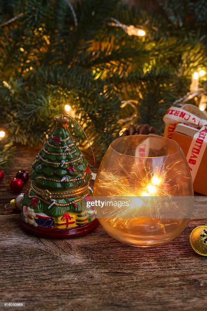 Handgefertigtes Geschenk-Boxen : Stock-Foto
