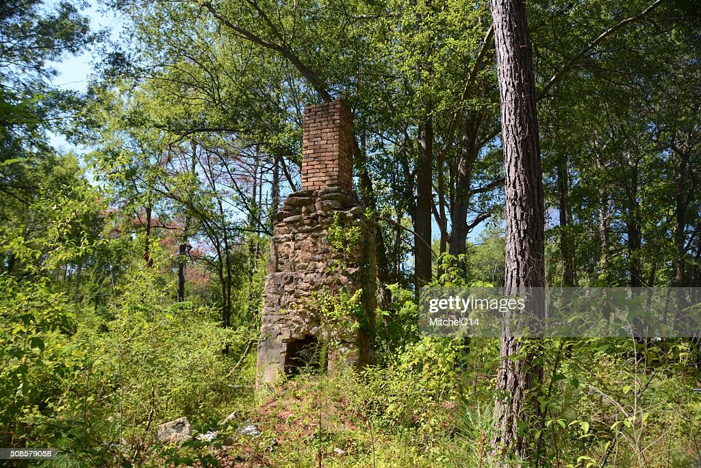 Handmade Homestead Chimney : Stockfoto