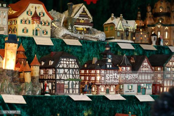 Handmade houses and puppets The worldfamous Christmas Market of Nuremberg was full of people even if there was heavy snowfall and cold