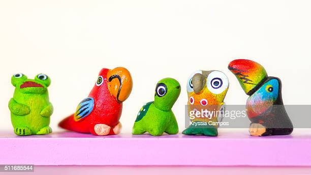 Handmade little animals collection