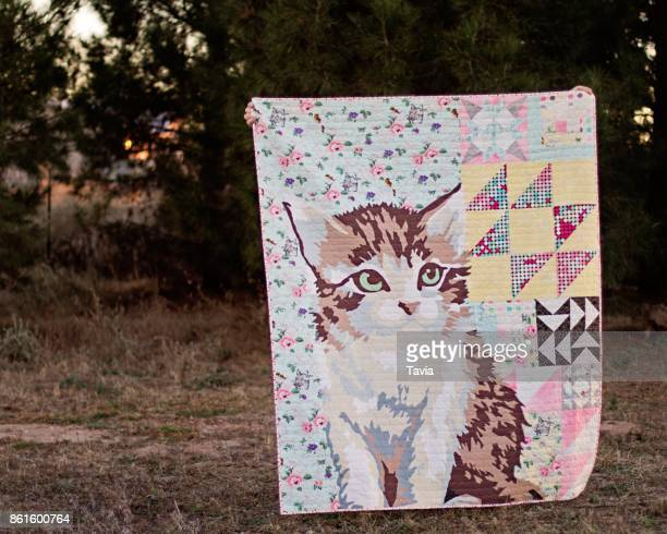 handmade quilt - patchwork stock pictures, royalty-free photos & images