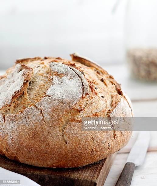 Handmade rustic bread