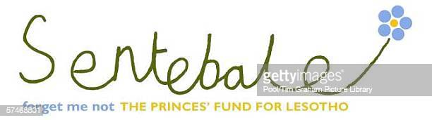 Handout image of the logo for 'Sentebale' which means 'Forget me not' the charity launched by Prince Harry in memory of his mother Princess Diana to...