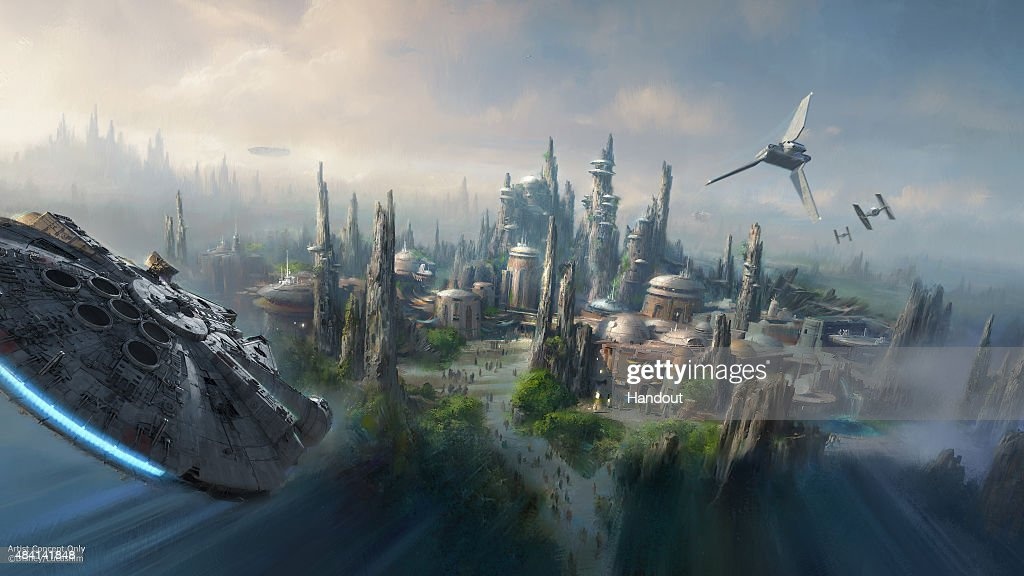 Star Wars - Themed Lands Coming to Disney Parks : News Photo