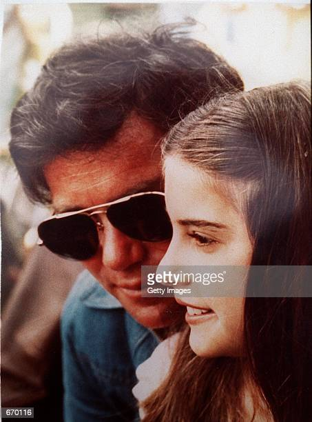 A handout photo of Melanie Shatner at 12yearsold with her father Star Trek actor William Shatner taken in 1981 in Los Angeles CA Melanie owns a shop...