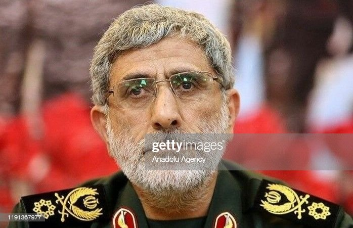 Newly appointed commander of the Iranian Revolutionary Guards' Quds Forces, Ismail Qaani : ニュース写真