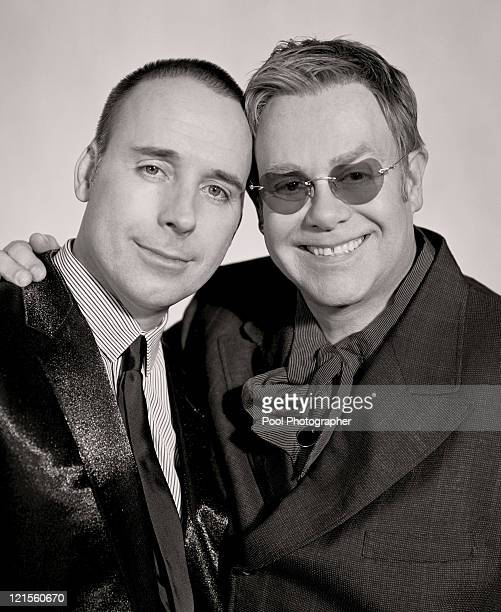Handout picture issued Wednesday 21 December 2005 This is the official press photograph of Sir Elton John and David Furnish to commemorate their...