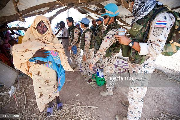 CREDIT AFP PHOTO / HO / UNAMID NO MARKETING NO ADVERTISING CAMPAIGNS DISTRIBUTED AS A SERVICE TO CLIENTSA handout picture released by the United...