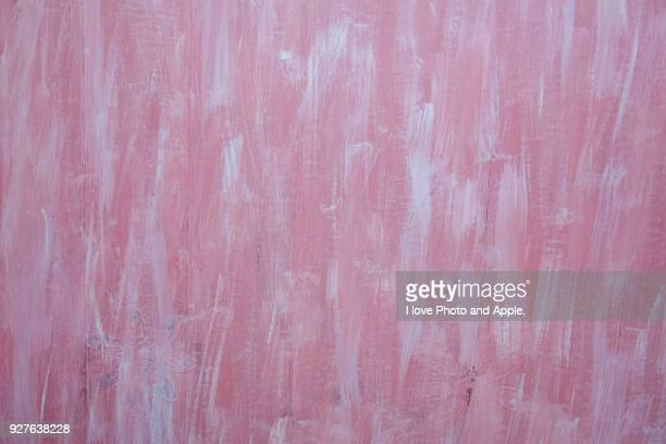 hand-painted wall on board fence - basting brush stock photos and pictures