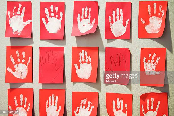 handprins - childcare stock pictures, royalty-free photos & images