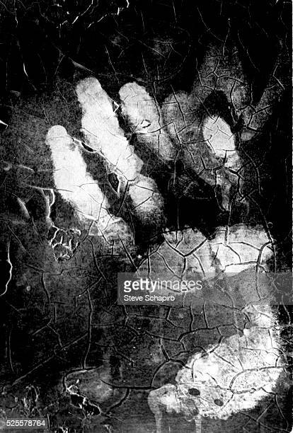 A handprint found on the second floor window of the rooming house bathroom from which shots were fired assassinating Dr Martin Luther King Jr on...