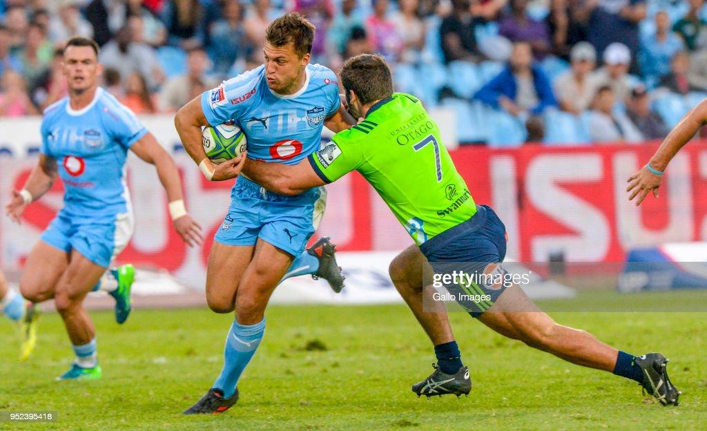 Super Rugby: Vodacom Bulls v Highlanders : News Photo