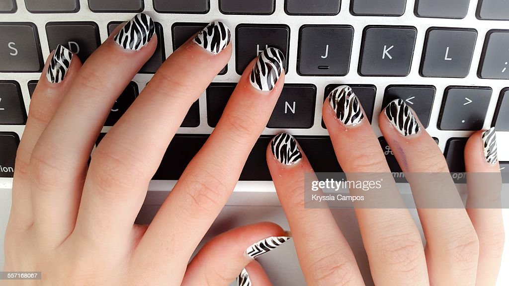 POV - Hands at Work : Stock Photo