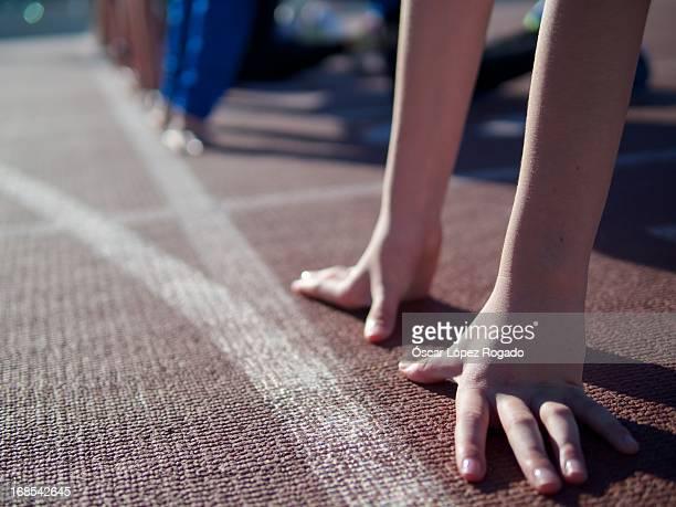 Hands - athletics