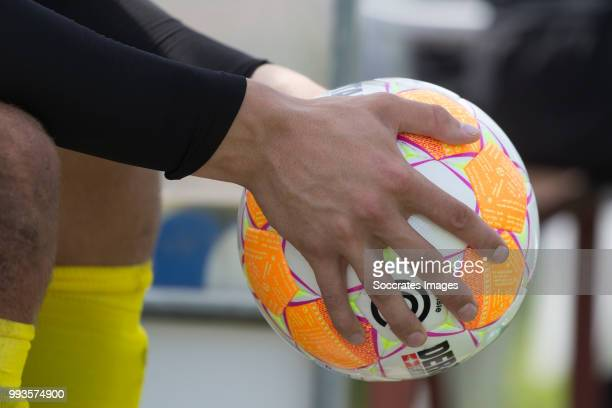Hands ball during the Club Friendly match between vv 't Fean '58 v FC Groningen at the Sportpark It Ketting on July 7 2018 in Surhuisterveen...