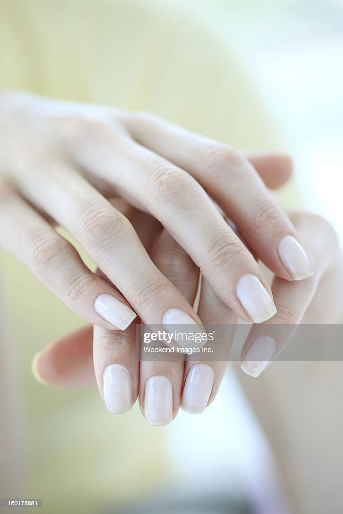 Hands care : Stock Photo