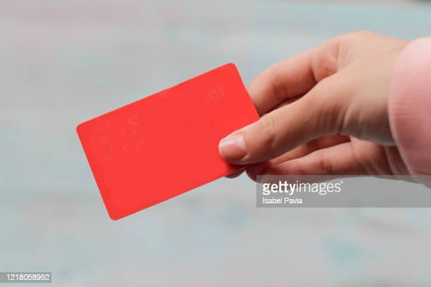 hands holding credit card - chip shot stock pictures, royalty-free photos & images