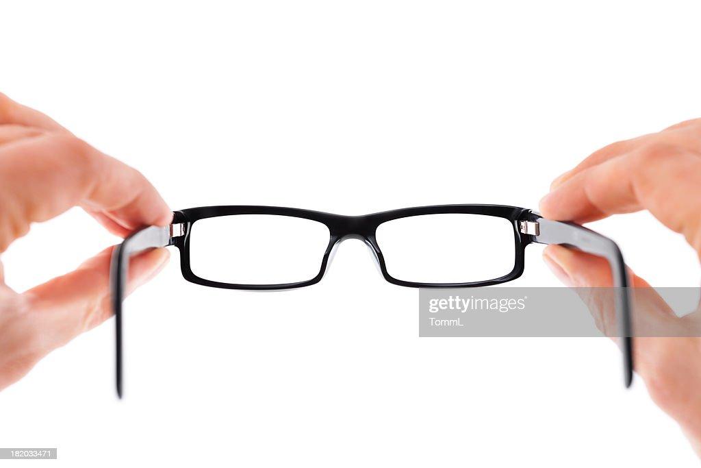 Hände halten Gläser : Stock-Foto