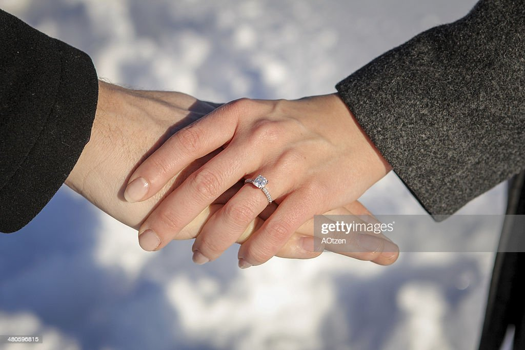 Hands Holding : Stock Photo