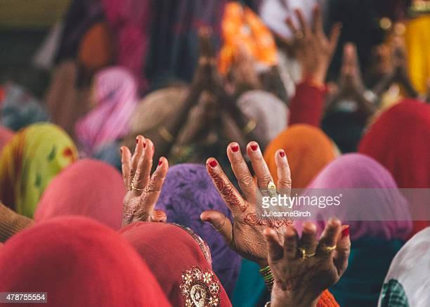 Hands, Holi, India