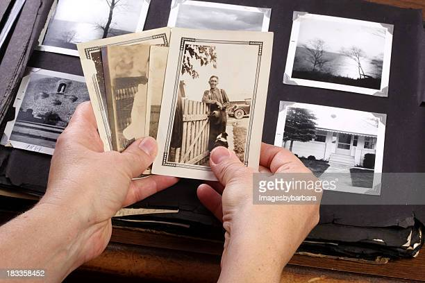 Hands Holing Vintage Memories
